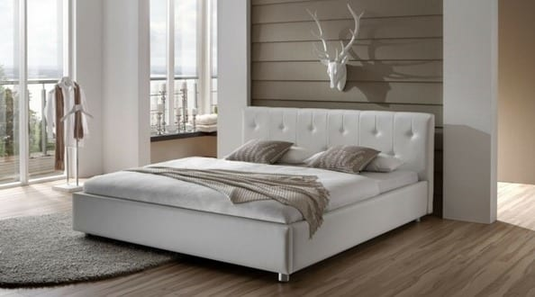 box spring bett das bett freshouse. Black Bedroom Furniture Sets. Home Design Ideas