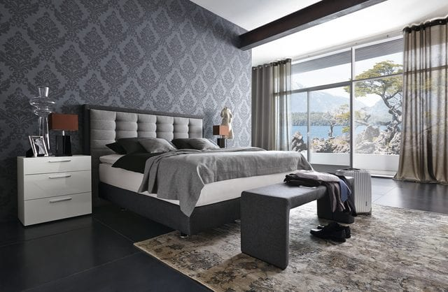 box spring bett evolution kolektion von musterring freshouse. Black Bedroom Furniture Sets. Home Design Ideas