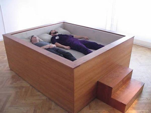 schlafzimmer inspiration mit modernes bett design