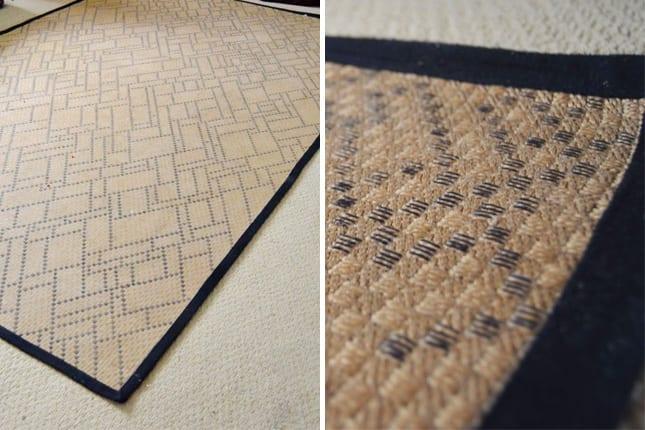 kreative bastelidee für kleinem teppich
