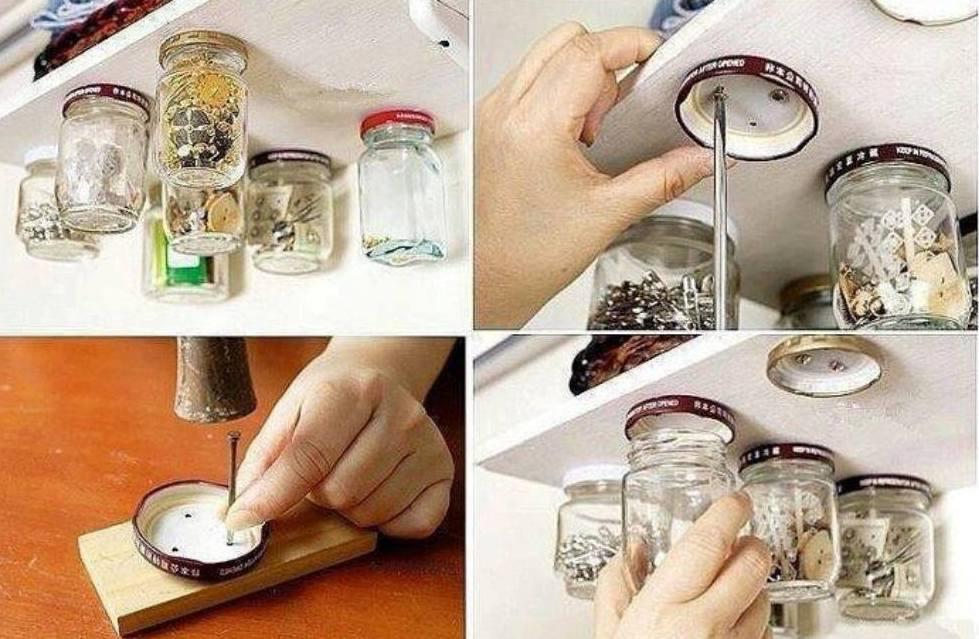 kreative idee für aufbewahrung