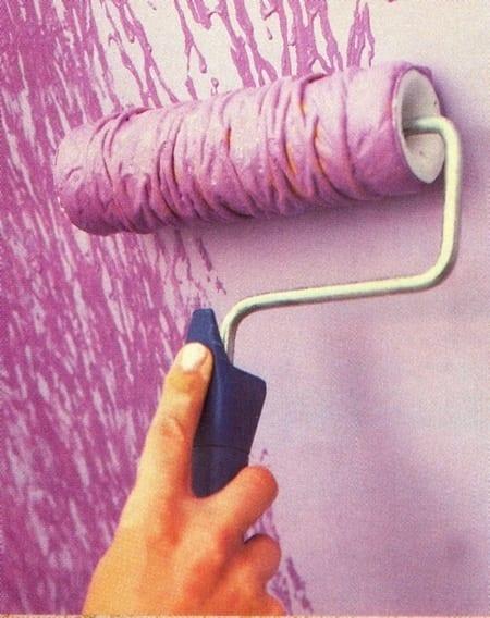 wände streichen ideen für wandfarbe lila