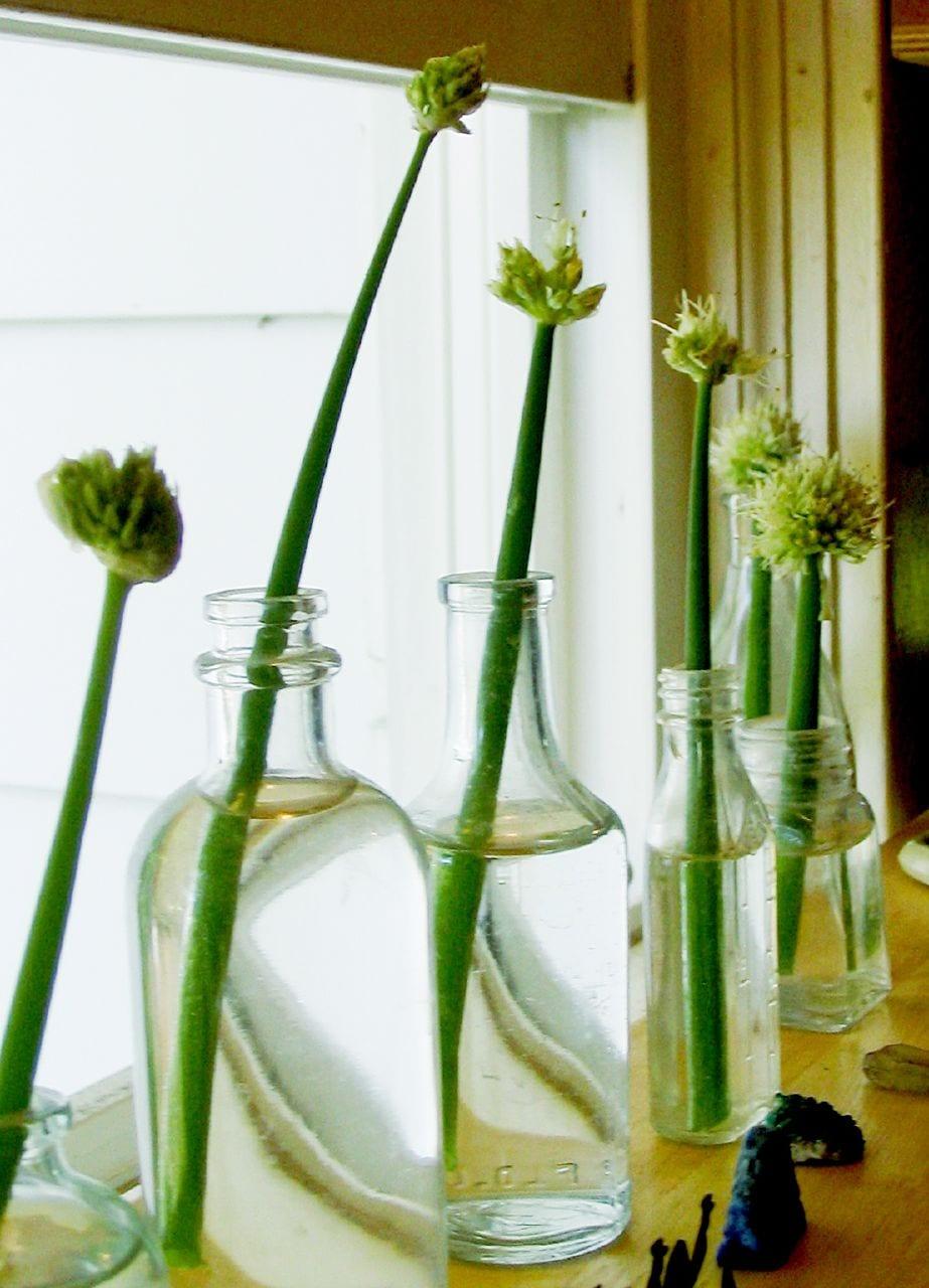 glasflaschen deko idee - decko selber machen
