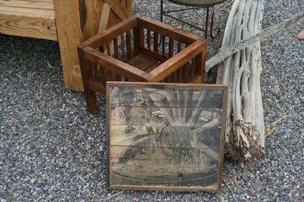 DIY Möbel aus paletten-coole bastelidee