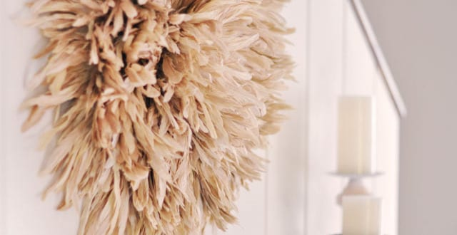 deko selber machen africanischer juju hut freshouse. Black Bedroom Furniture Sets. Home Design Ideas