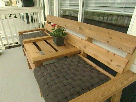 gartenm bel aus paletten freshouse. Black Bedroom Furniture Sets. Home Design Ideas
