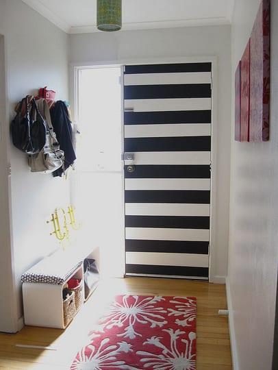 innent ren wei 50 elegante modelle wei er interior t ren freshouse. Black Bedroom Furniture Sets. Home Design Ideas