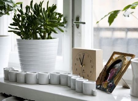 fenster dekorieren kerzen freshouse. Black Bedroom Furniture Sets. Home Design Ideas