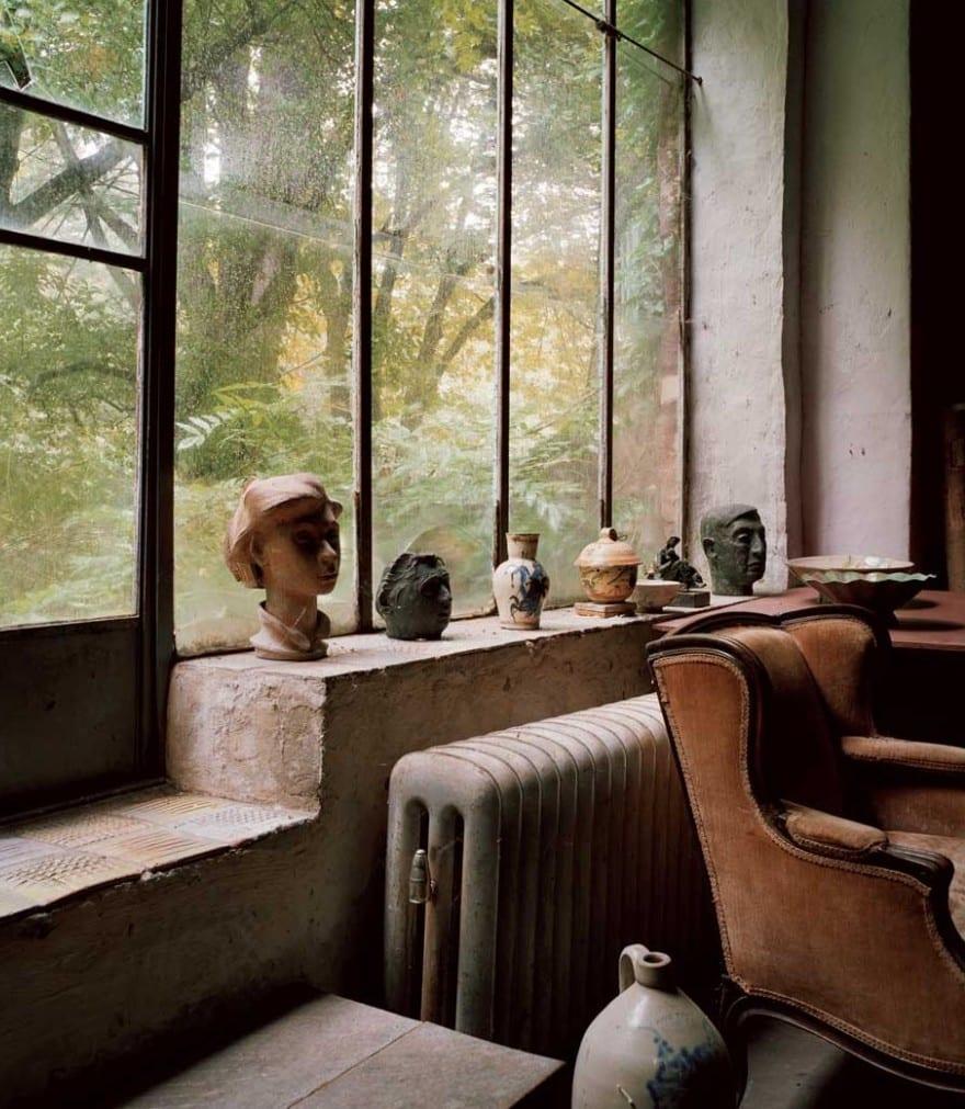 wohnzimmergestaltung-vintage interior