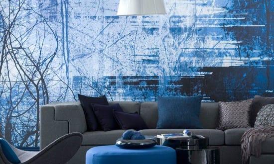 design : wohnzimmer gestalten blau ~ inspirierende bilder von ... - Wohnzimmer Gestalten Blau