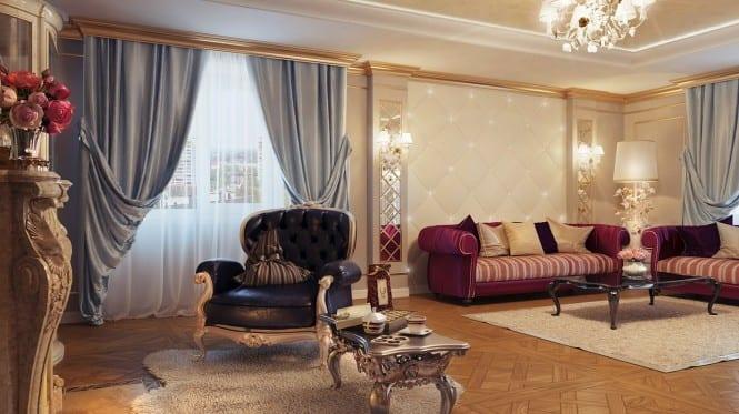 gardinen dekorationsideen - freshouse, Wohnzimmer dekoo