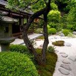 garten und landschaftsbau-haus und garten mit steinen