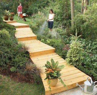 Hervorragend Gartentreppe Selber Bauen Aus Paletten