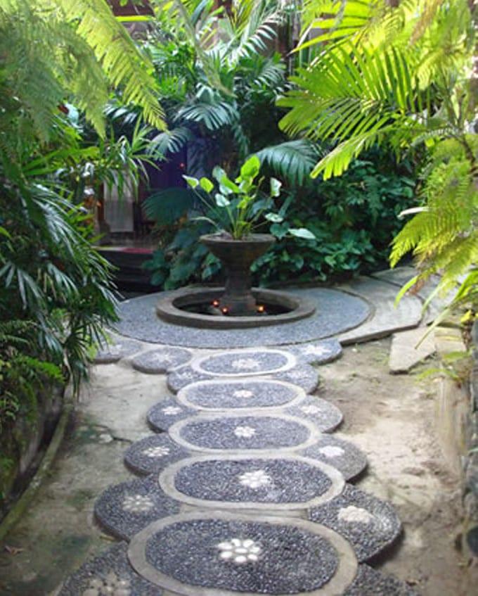 Prächtig Gartenwege - coole Gartenideen für Gartendeko - fresHouse #OW_49