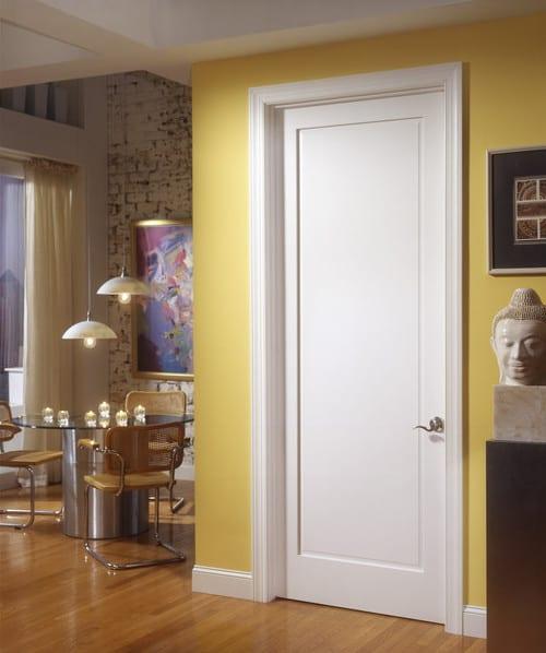 wohnzimmer inspirationen mit ziegelwand und esstisch rund