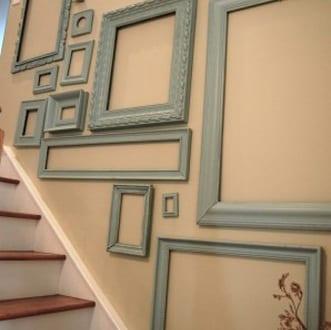 graue bilderrahmen dekorieren freshouse. Black Bedroom Furniture Sets. Home Design Ideas