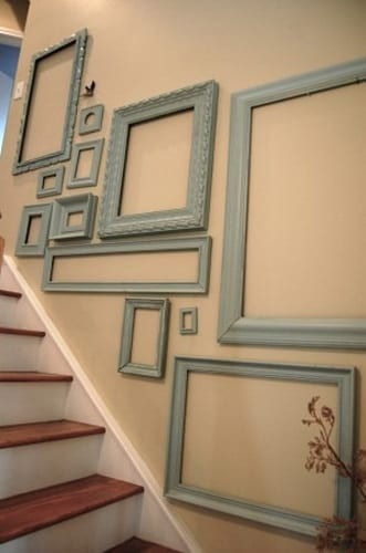 treppenraum dekorieren