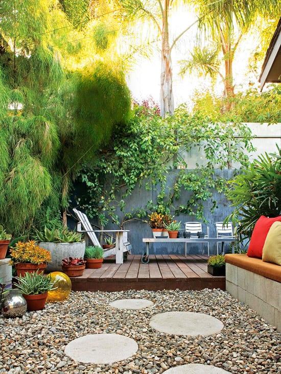 Garten Und Landschaftsbau - Gartengestaltung - Freshouse Ideen Hof Garten Gestalten