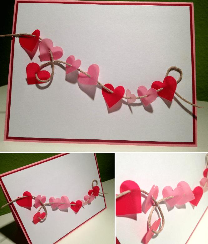 wie mache ich valentinstag karte