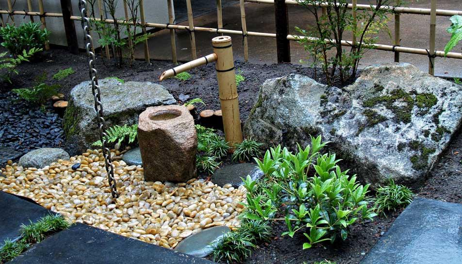 steingarten idee mit zen gartendesign