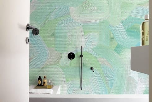 Innenraumgestaltung mustertapete pincelado freshouse for Innenraumgestaltung wohnzimmer