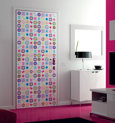 moderne innentüren mit muster- luxus wohnzimmer mit bodenbelag pink und weißen möblierung-wohnzimmer pink