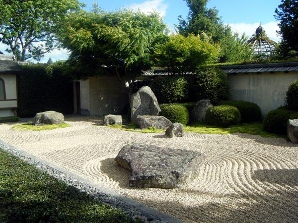 steingarten idee- main zen garten