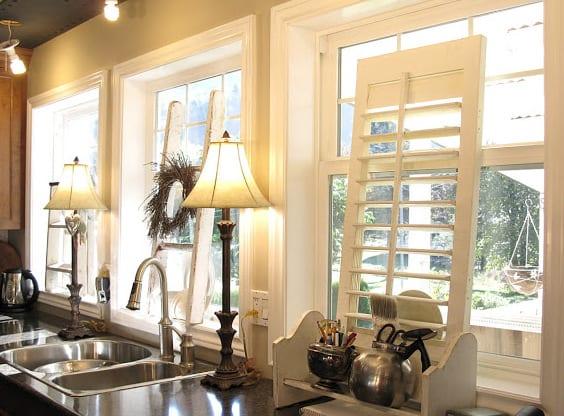 küche einrichten idee- vintage interior design küche