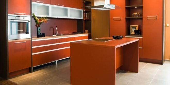 k che wandfarbe orange freshouse. Black Bedroom Furniture Sets. Home Design Ideas