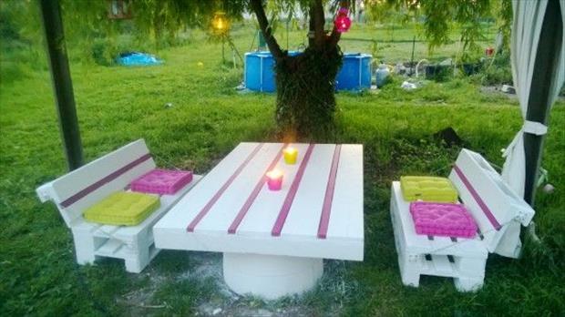 Gartenmobel Tisch Bauhaus : kindermöbel gartenmöbel aus paletten