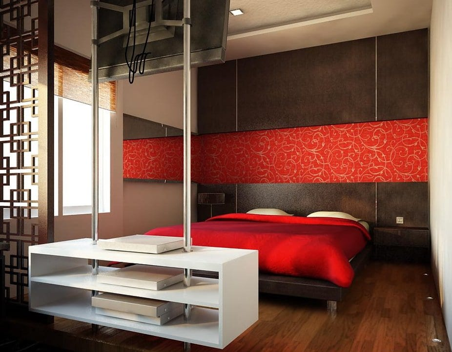 schlafzimmer rot 50 schlafzimmer inspirationen in rot. Black Bedroom Furniture Sets. Home Design Ideas