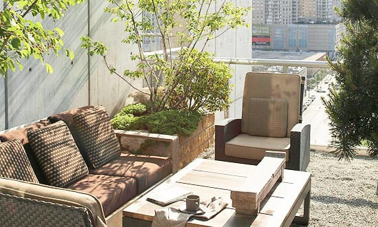 kleiner garten in der stadt freshouse. Black Bedroom Furniture Sets. Home Design Ideas