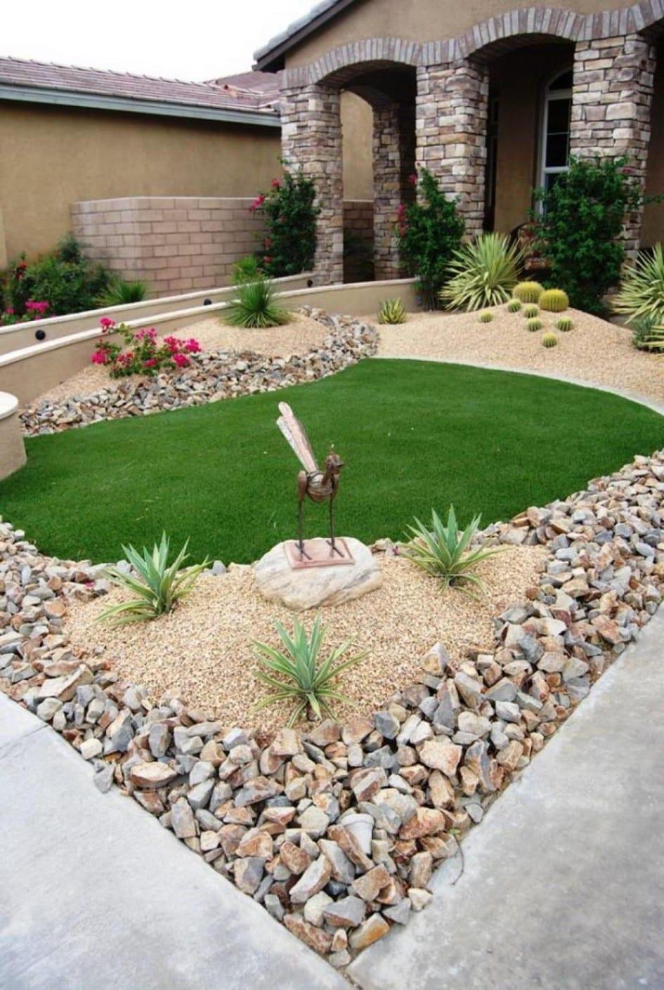 vorgarten - ideen fürs vorgarten gestalten - freshouse, Garten ideen