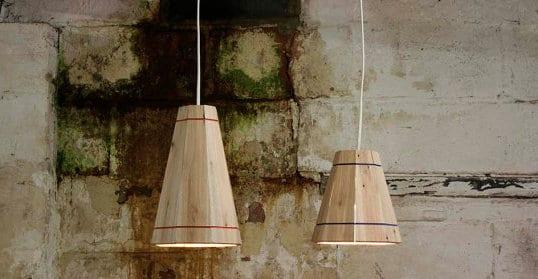 wohnideen mit lampen aus paletten
