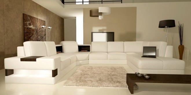 luxus wohnzimmer mit beige wandfarbe - freshouse