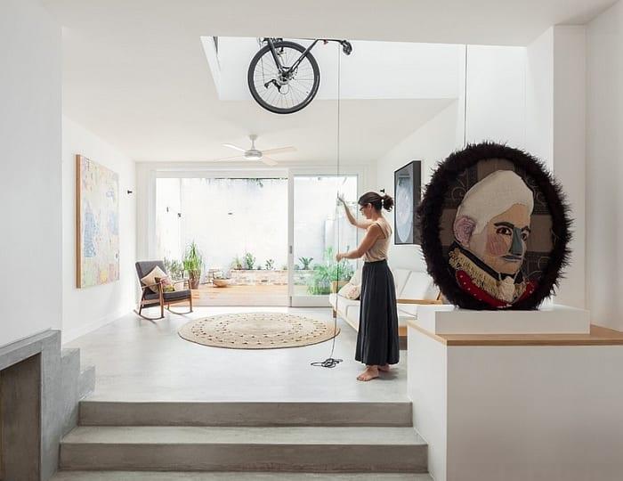 modernes wohnzimmer mit Ihnenhofgarten