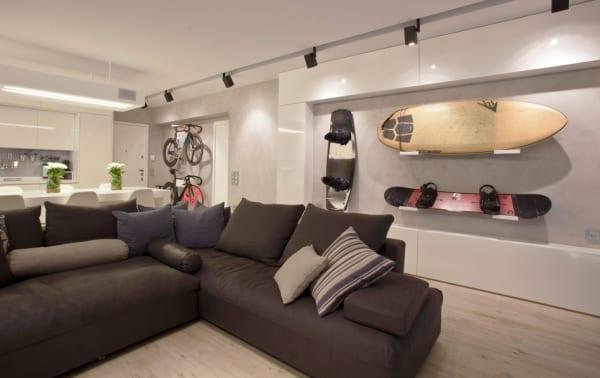 mein wohnzimmer-idee für aufbewahrung an der wand - freshouse, Attraktive mobel