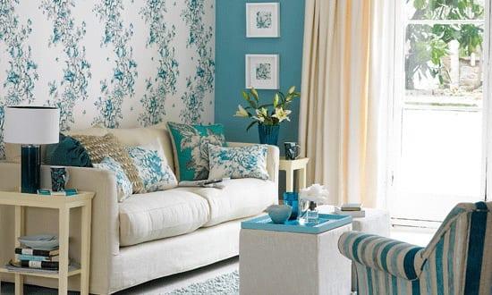 Mein wohnzimmer wandfarbe blau freshouse