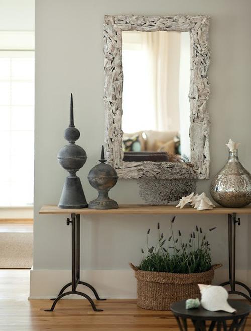 kreative wandgestaltung mit spiegel-wohnideen