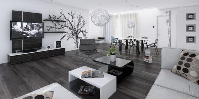 moderners wohnzimmer idee fr wohn esszimmer - Idee Im Wohnzimmer