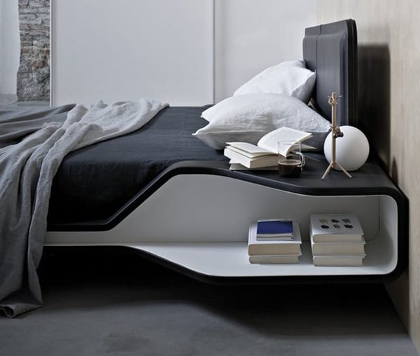 22 modelle moderner nachttische f r elegante. Black Bedroom Furniture Sets. Home Design Ideas