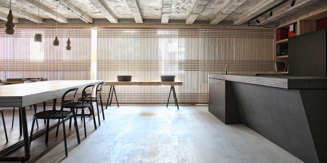 Kombination unterschiedlicher Materialien – faliro loft