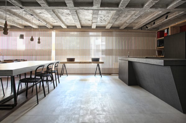 modernes esszimmer interior loft wohnung freshouse. Black Bedroom Furniture Sets. Home Design Ideas
