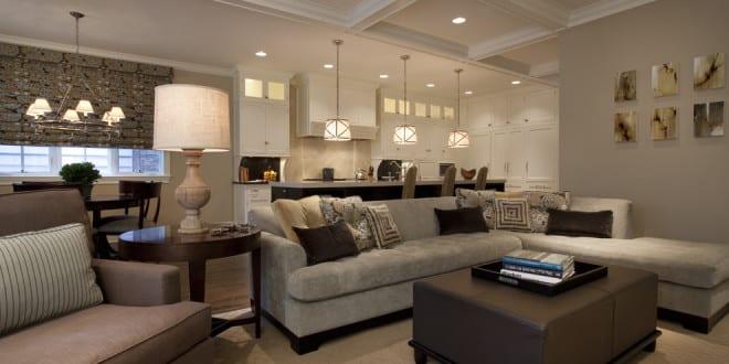 modernes wohnzimmer grau - fresHouse
