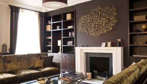 Wohnzimmer Inspiration Braun : fresHouse Interior design,moderne ...