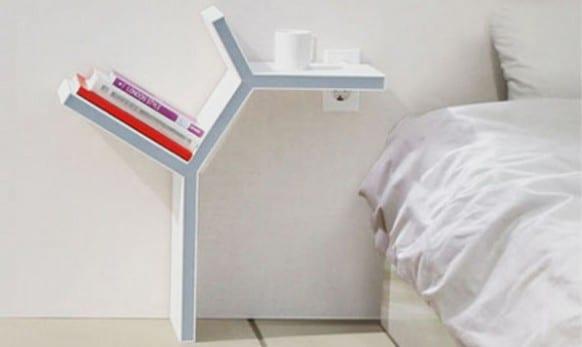 moderne schlafzimmermöbel- nachttischlampe weiß