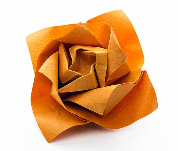papier falten-coole bastelideen mit origami