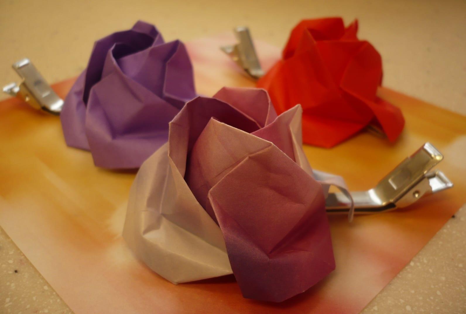 origami rosen