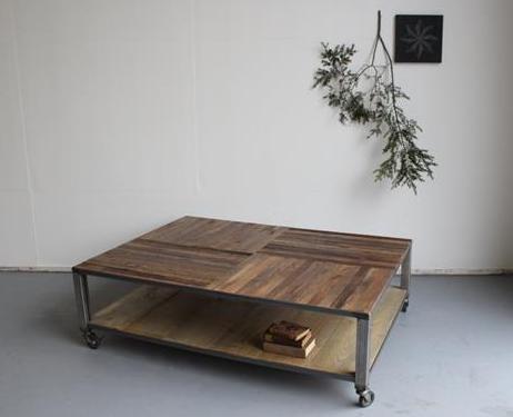 DIY rollentisch aus paletten