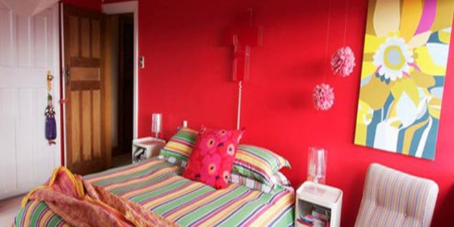 Wandfarben ideen pink